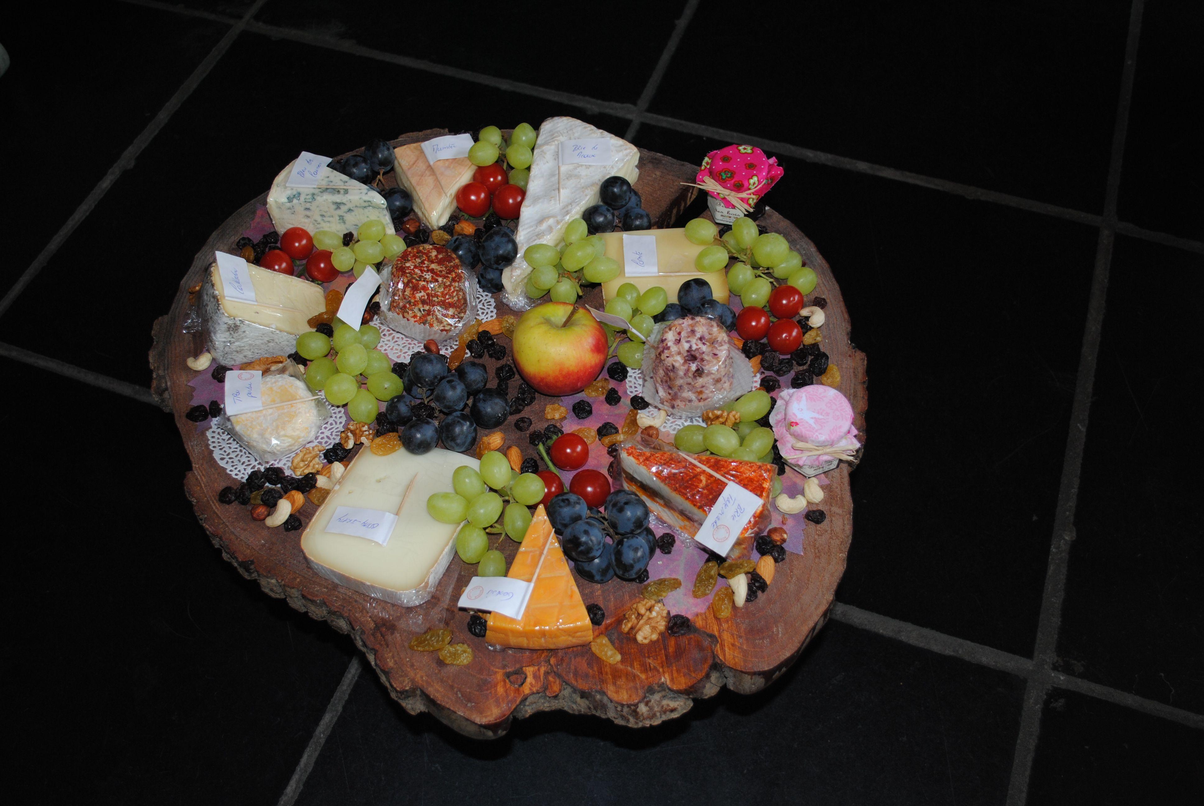 Des plateaux pour tous les go ts fromagerie du samson - Combien de fromage par personne ...